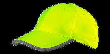 Бейсболка сигнальная желтая 81-793, однотонная, универсальный размер NEO TOOLS