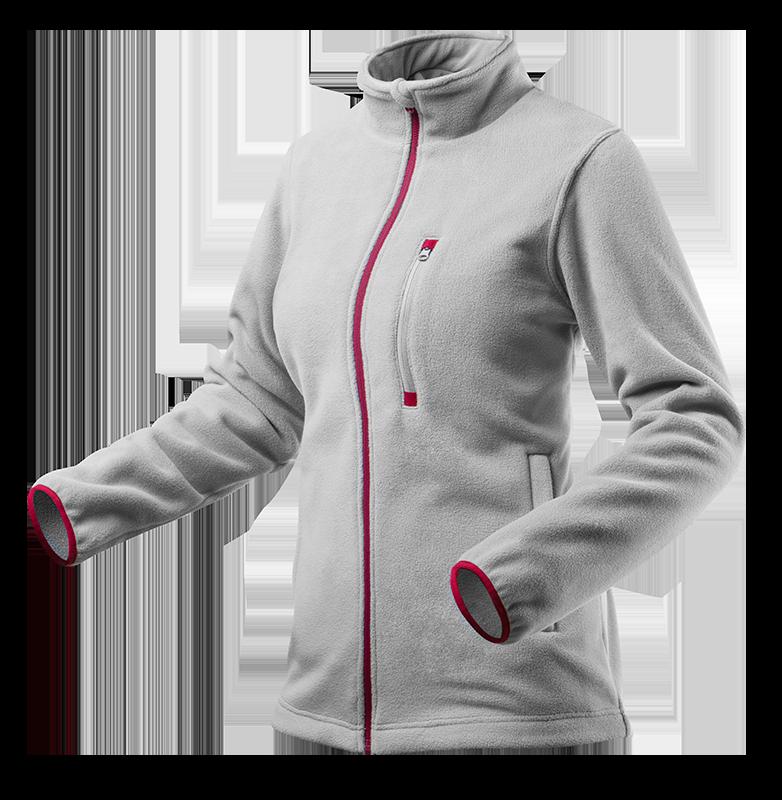 Флисовая куртка женская 80-501, серая , сшитая из высококачественного флиса, 100% полиэстер. NEO TOOLS