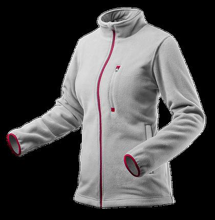 Флисовая куртка женская 80-501, серая , сшитая из высококачественного флиса, 100% полиэстер. NEO TOOLS, фото 2