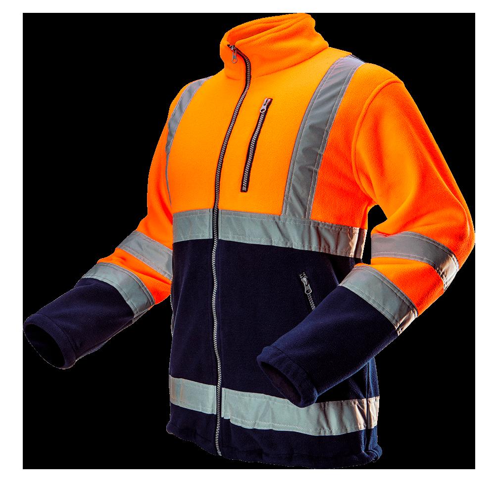 Флисовая 81-741 повышенной видимости, оранжевого цвета. Neo-Tools
