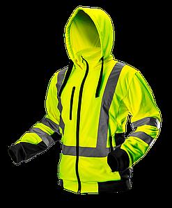 Куртка рабочая сигнальная 81-745 желтого цвета NEO TOOLS