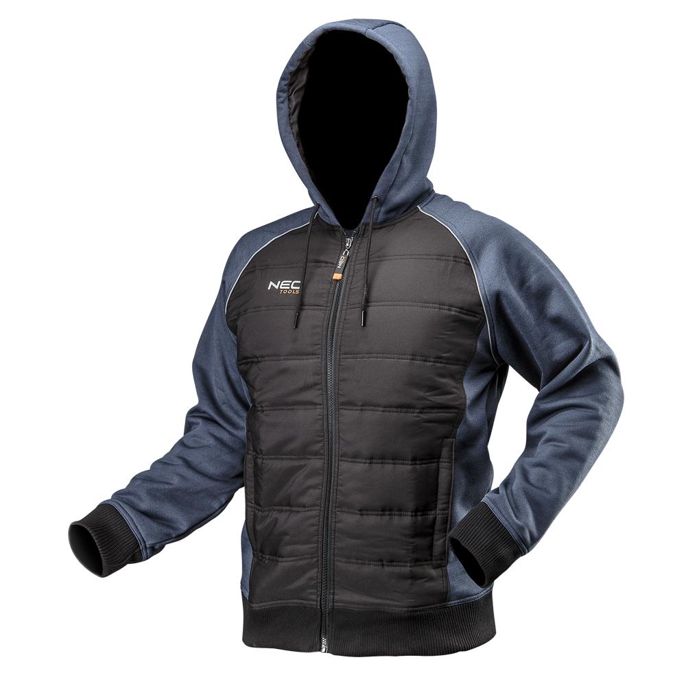 Трикотажная куртка  81-556, утепленная, с капюшоном NEO TOOLS