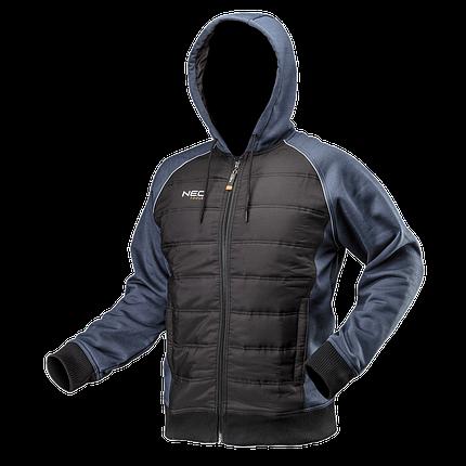 Трикотажная куртка  81-556, утепленная, с капюшоном NEO TOOLS, фото 2