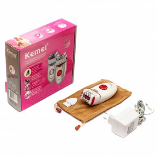 Эпилятор с двойной головкой, для женщин, Kemei KM 2666