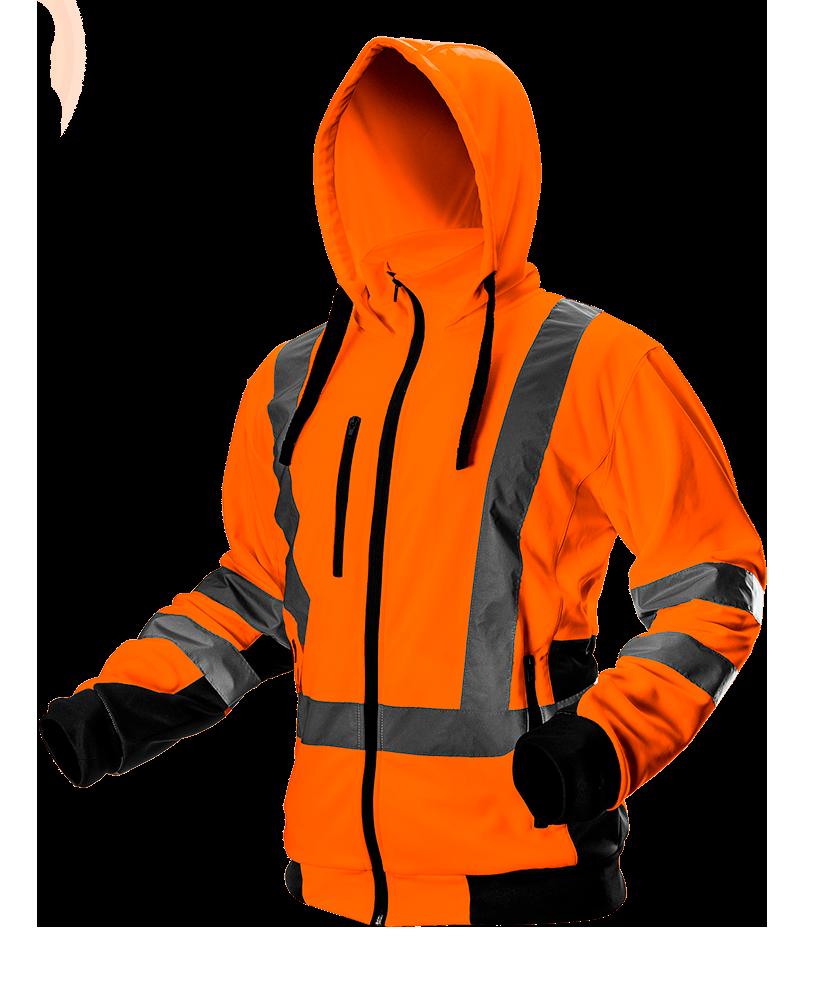 Куртка рабочая сигнальная 81-746 , оранжевая NEO TOOLS