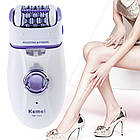 Эпилятор с двойной головкой, для женщин, Kemei KM 2666, фото 7