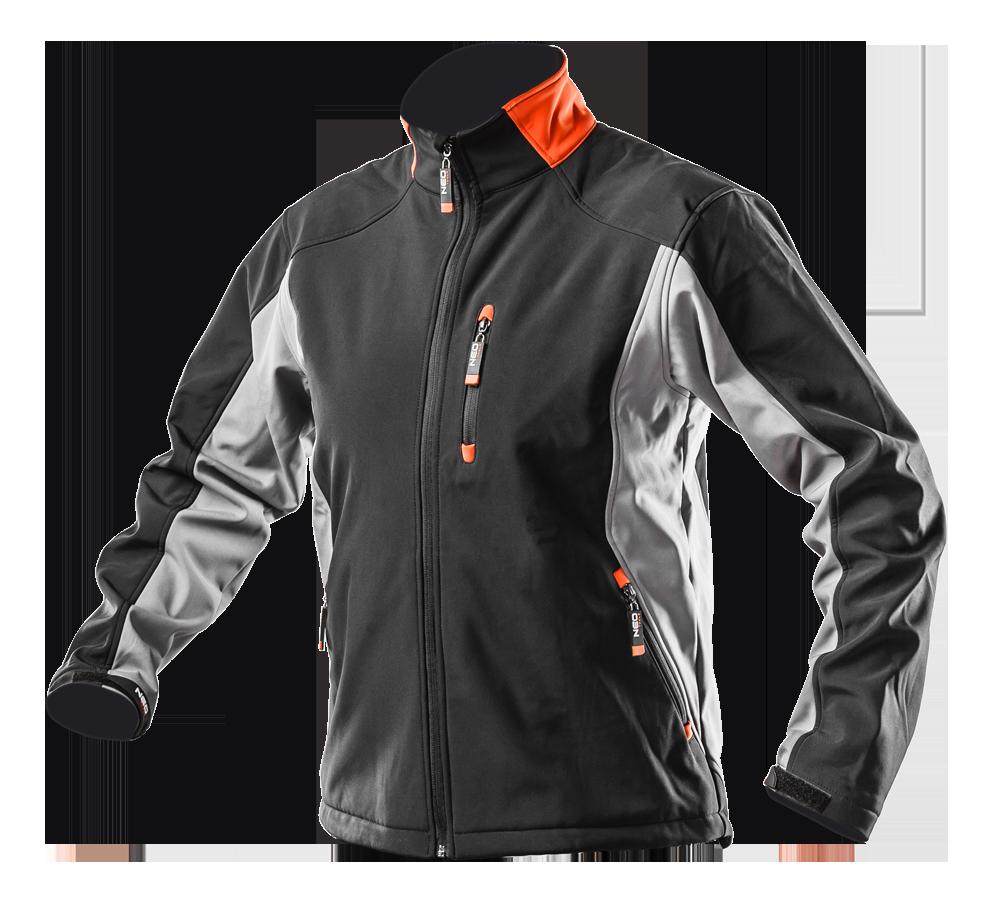 Рабочая куртка 81-550 , сшита из высококачественной ткани softshell NEO TOOLS