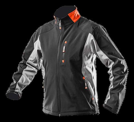 Рабочая куртка 81-550 , сшита из высококачественной ткани softshell NEO TOOLS, фото 2