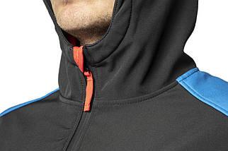Куртка 81-558 сшита из высококачественного материала softshell, с капюшоном NEO TOOLS, фото 2