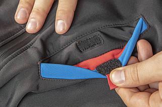 Куртка 81-558 сшита из высококачественного материала softshell, с капюшоном NEO TOOLS, фото 3