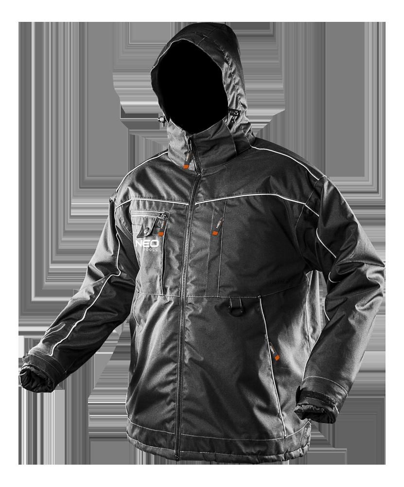 Рабочая зимняя куртка 81-570 c водостойкого материала NEO TOOLS