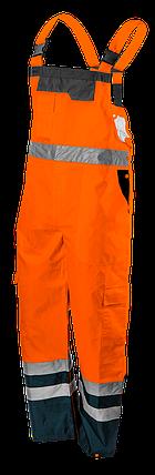 Полукомбинезон рабочий 81-776, сигнальный, водостойкий, оранжевого цвета  NEO TOOLS, фото 2