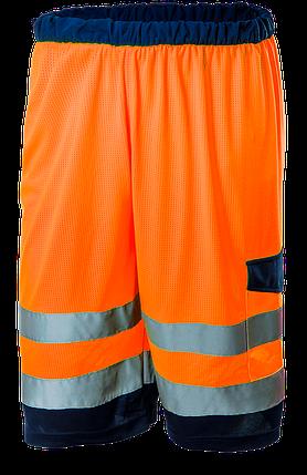 Шорты сигнальные 81-783, оранжевого цвета NEO TOOLS, фото 2