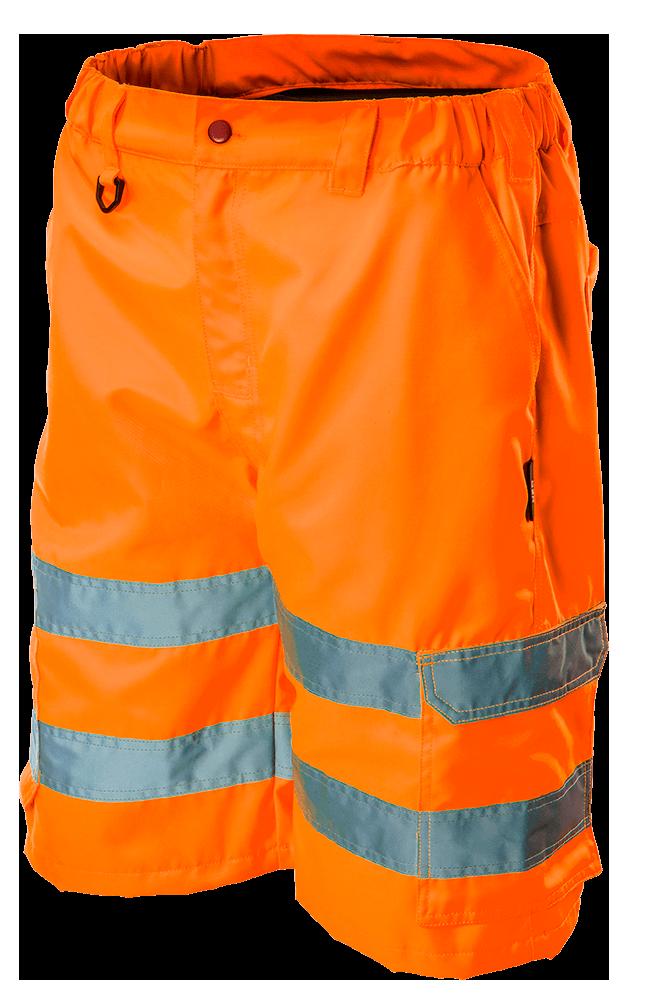 Шорты сигнальные 81-781, сигнальный, оранжевого цвета NEO TOOLS