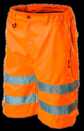 Шорты сигнальные 81-781, сигнальный, оранжевого цвета NEO TOOLS, фото 2