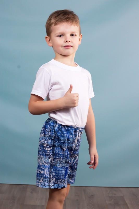 Детские цветные шорты (разные расцветки и рисунки)
