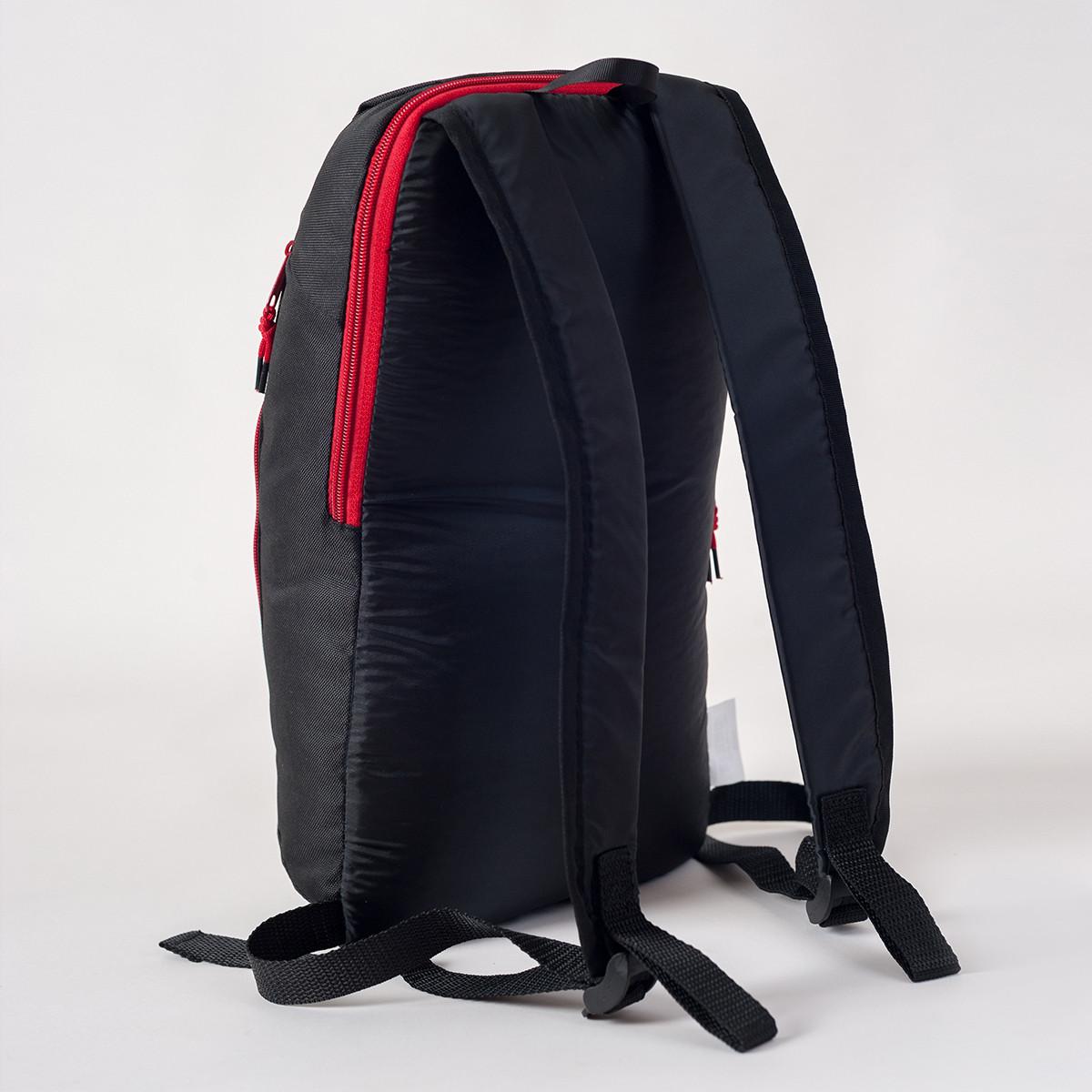 Спортивный рюкзак MAYERS 10L, черный / красная молния, фото 3