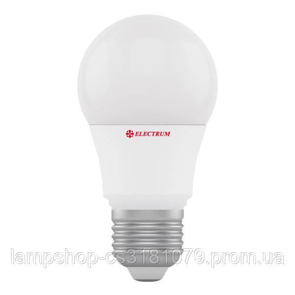 Лампа светодиодная стандартная А50 LD-7 6W E27 4000K алюмопл. корп. A-LD-0438