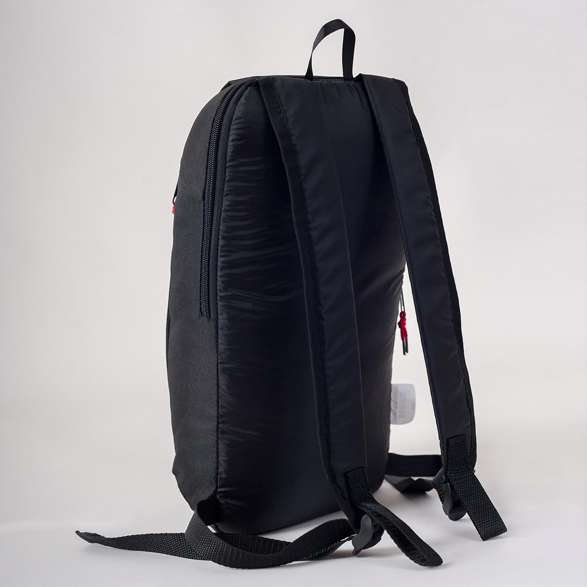 Спортивный рюкзак MAYERS 10L, черный / черная молния, фото 3