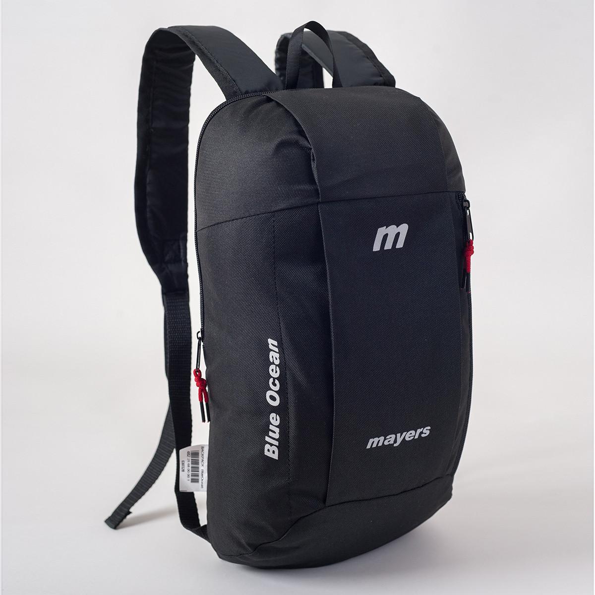 Спортивный рюкзак MAYERS 10L, черный / черная молния, фото 2