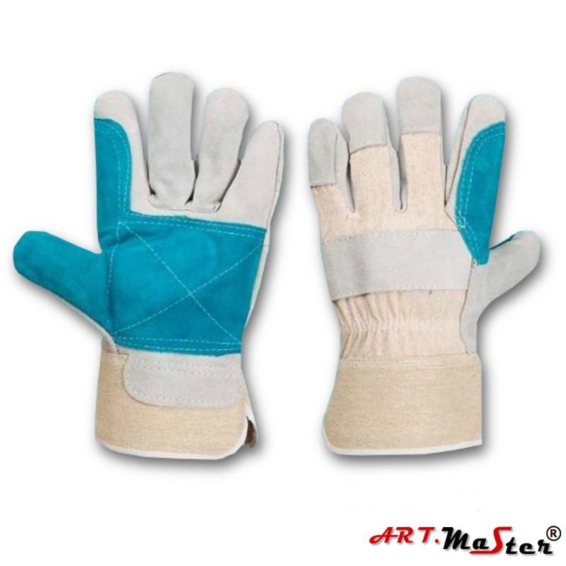 Защитные перчатки Rpower typ B усиленные яловой кожей ARTMAS POLAND