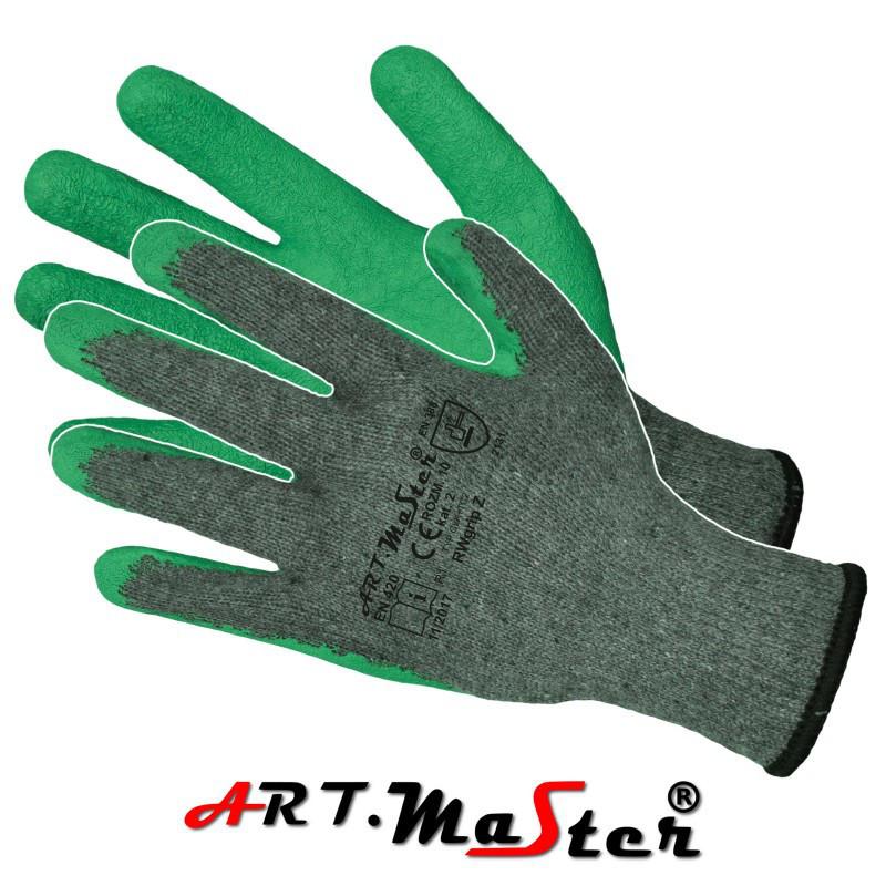 Перчатки RWgrip Z защитные покрытые латексом ARTMAS POLAND