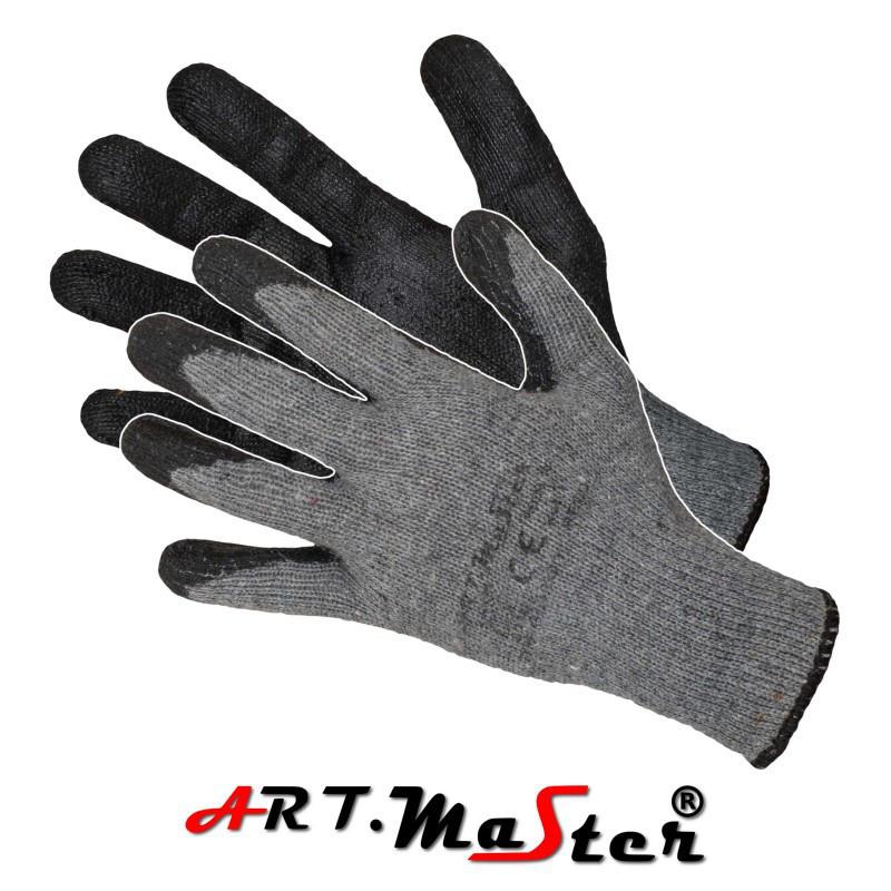 Перчатки R.ECO защитные с латексным покрытием  ARTMAS POLAND