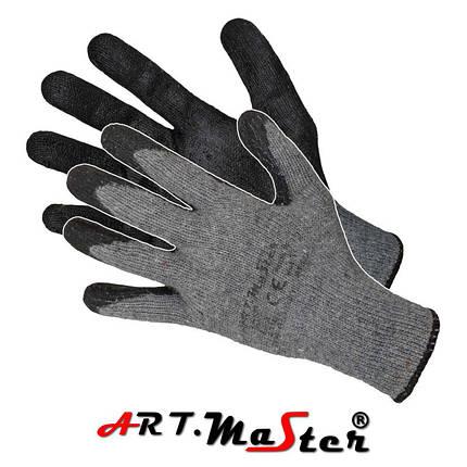 Перчатки R.ECO защитные с латексным покрытием  ARTMAS POLAND, фото 2