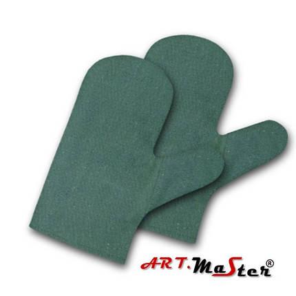 Перчатки RB1 2W защитные брезентовые ARTMAS, фото 2