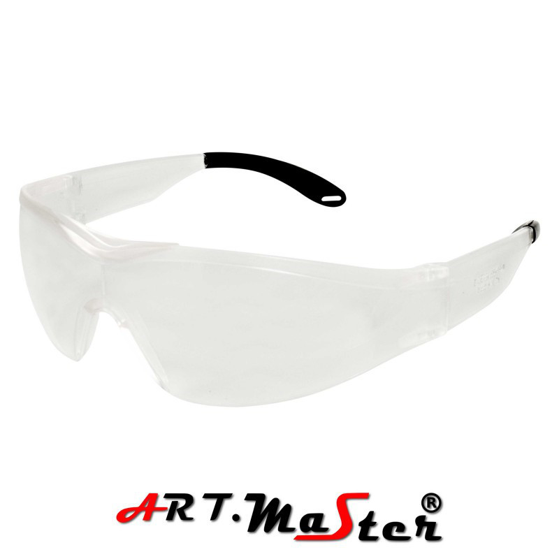 Очки защитные противоосколочные B360 с прозрачной линзой ARTMAS