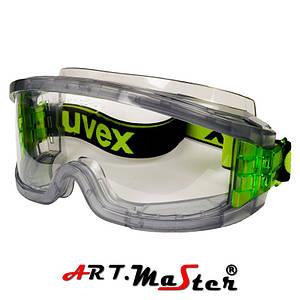 Закрытые  защитные очки с прозрачной линзой Gogle UVEX ARTMAS