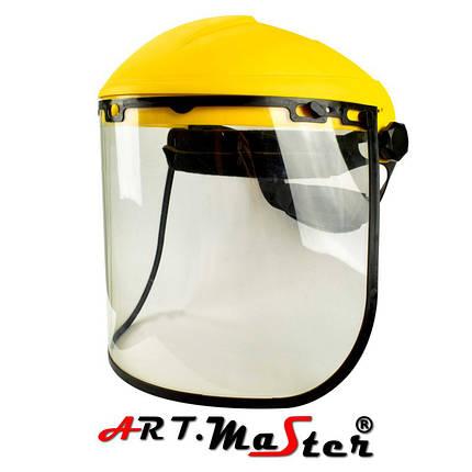 Защита для лица, состоящая из противоосколочного стекла, оголовья и шарнирного блока OSLUX15 ARTMAS , фото 2