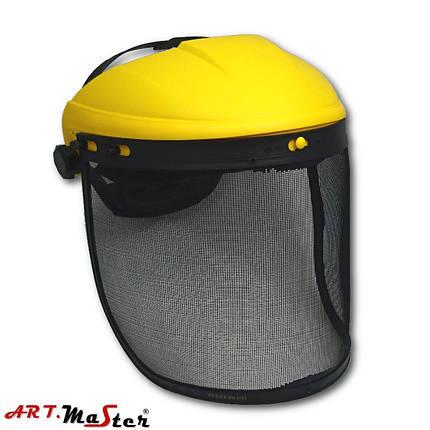 Защита для лица, состоящая из сетки, рамки и оголовья OS MESH 201M ARTMAS, фото 2