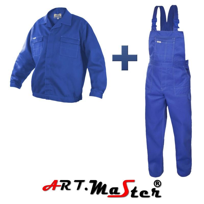 Профессиональная  рабочая одежда COMFORT blue синего цвета  ARTMAS
