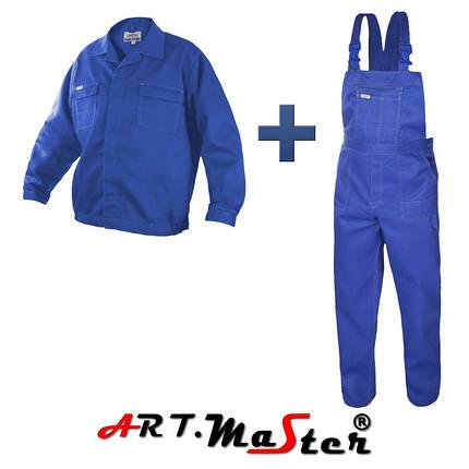 Профессиональная  рабочая одежда COMFORT blue синего цвета  ARTMAS, фото 2