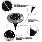 Светильникна солнечной батарее Solar Disk Lights, фото 4