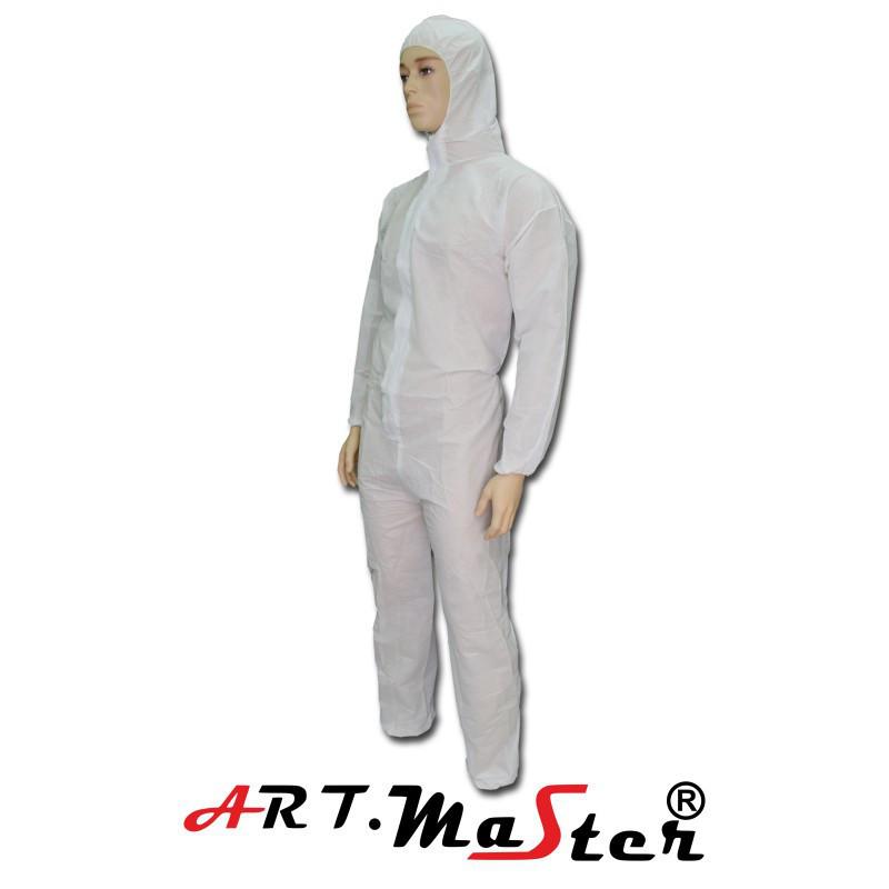 Защитный костюм COVE SMS белого цвета ARTMAS