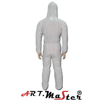 Защитный костюм COVE SMS белого цвета ARTMAS, фото 2