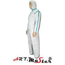 Защитный комбинезон COVE Micro typ 4 белого цвета ARTMAS, фото 3