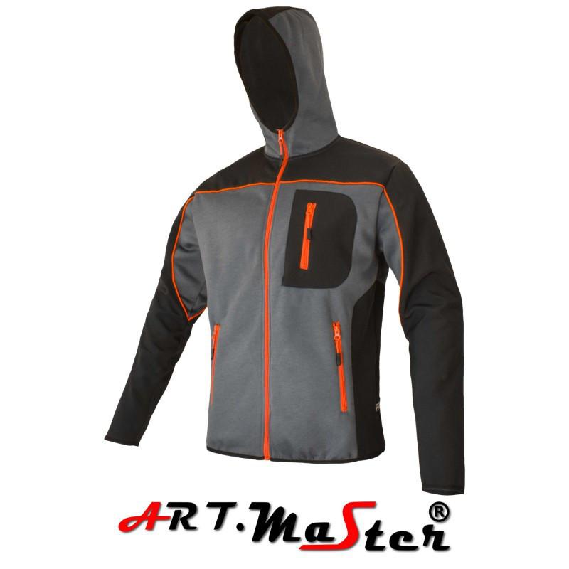 Толстовка защитная Professional bluza dziana grey серого цвета ARTMAS