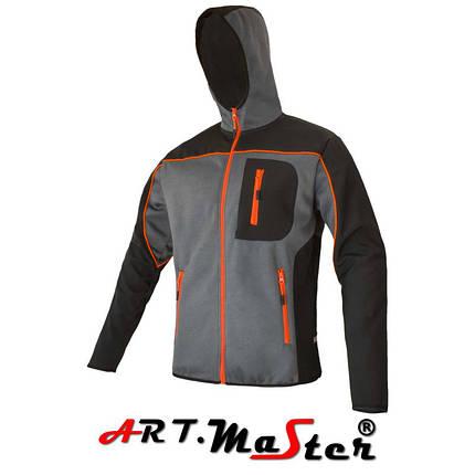 Толстовка защитная Professional bluza dziana grey серого цвета ARTMAS, фото 2