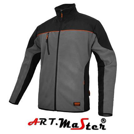Куртка защитная зимняя CLASPRO Kurtka polarowa grey серого цвета ARTMAS, фото 2