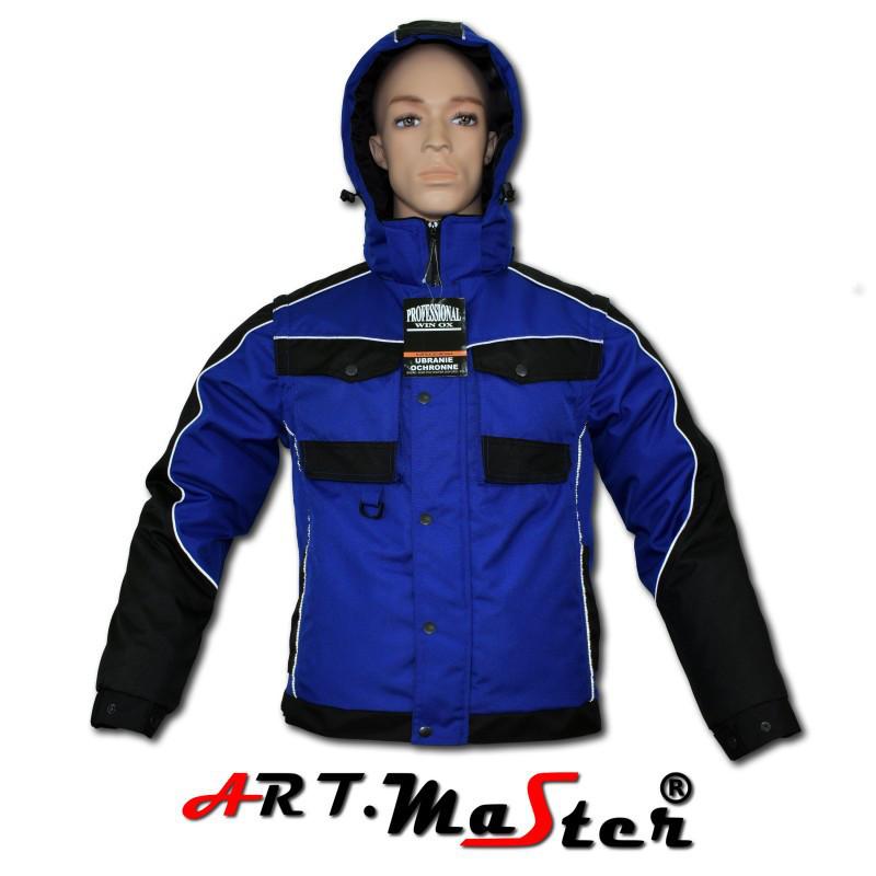 Куртка зимняя рабочая Kurtka PROF WINOX Blue Out синего цвета ARTMAS