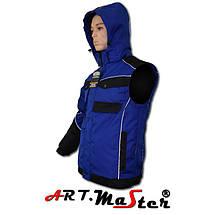 Куртка зимняя рабочая Kurtka PROF WINOX Blue Out синего цвета ARTMAS, фото 2