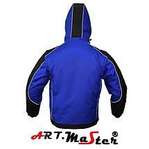 Куртка зимняя рабочая Kurtka PROF WINOX Blue Out синего цвета ARTMAS, фото 3