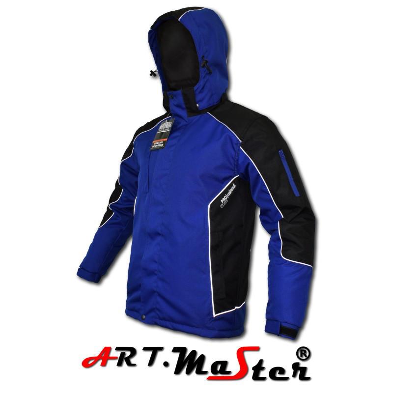 Куртка зимняя рабочая Kurtka P  WIN LONG Blue Out синего цвета ARTMAS