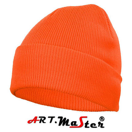 Шапка зимняя CzDz - orange оранжевого цвета ARTMAS, фото 2