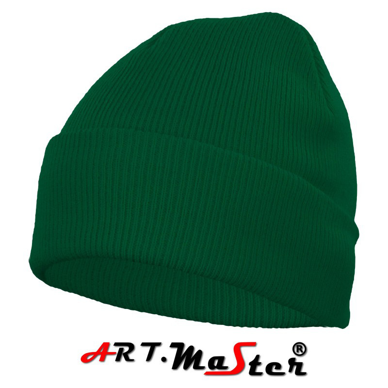 Шапка зимняя  CZdz - zielona зеленого цвета ARTMAS