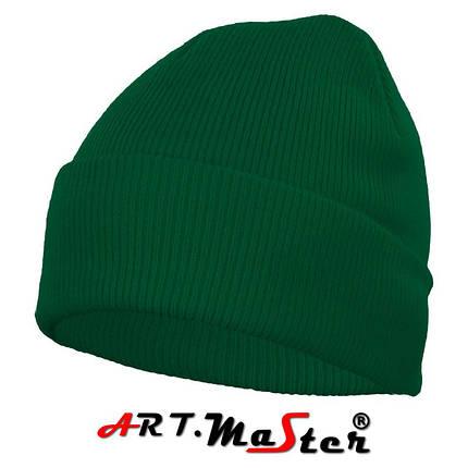 Шапка зимняя  CZdz - zielona зеленого цвета ARTMAS, фото 2