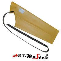 Кожаный рукав RKL коричневого цвета ARTMAS